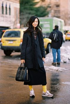 New York Fashion Week AW 2013....Tian