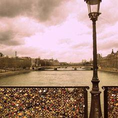 Pont des Arts, Parijs