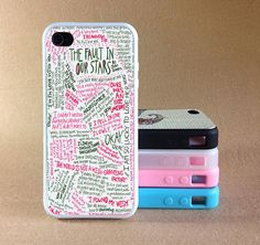 iPhone 4 Case  The Fault in Our Stars  by Xiaoyancasejewelry