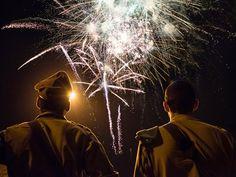 Fireworks Over Jerusalem