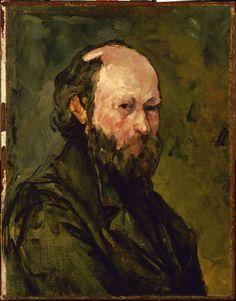 Self-Portrait Paul Cezanne