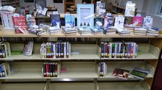 Winter Reading Display at the Mebane Library