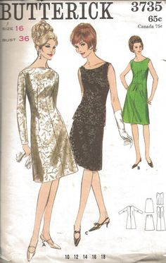 Simplicity 1406 - Vintage Sewing Patterns