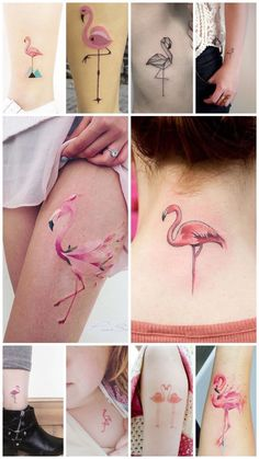 Mama Tattoos, Foot Tattoos, Body Art Tattoos, Flamingo Tattoo, Dope Tattoos For Women, Tattoo Quotes For Women, Funky Tattoos, Palm Tree Tattoo Ankle, Neue Tattoos