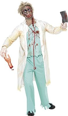 Smiffys Mens Zombie Doctor Costume        AMAZON BEST BUY      4a434837c4b16