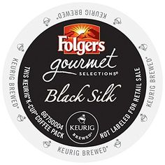 Folgers Gourmet Selections Black Silk Coffee KCupsPack of 96 ** This is an Amazon Associate's Pin. Read more reviews of the product by visiting the link on the image.