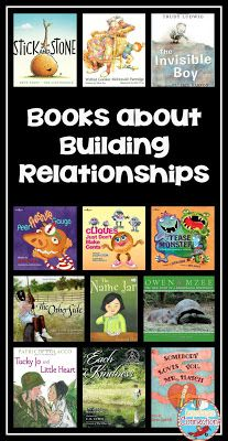 Looking to build relationships in your classroom? Check out this blog post for some great book ideas!