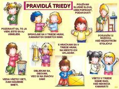 Pravidlá triedy Preschool Decor, Preschool Activities, Indoor Activities For Kids, Kids And Parenting, Montessori, Kindergarten, Classroom, Teacher, Education