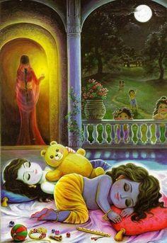 But not the gopas and Yashoda, only Krishna and Balarama. Hare Krishna, Krishna Leela, Radha Krishna Love, Krishna Flute, Radha Rani, Yashoda Krishna, Jai Shree Krishna, Hanuman, Lord Krishna Wallpapers