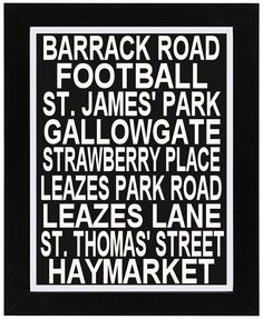 Items similar to Bus Blind Print Featuring St James' Park Football Ground Newcastle on Etsy Newcastle United Fc, St James' Park, Saint James, Pool Table, 60th Birthday, 4 Life, Jumpers, Game Room, Man Cave