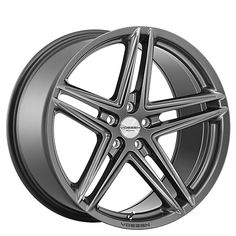 """20"""" Staggered Vossen Wheels VFS5 Gloss Graphite Rims from AudioCityUSA.com #Wheel & #Tire Specialists since 1989 #AudioCityUSA #wheelsbyAudioCity #wheels #tires #rims #rim #car #cars #trucks #exotic #import #luxury #muscle #offroad"""