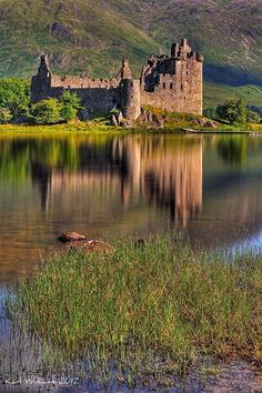 "Kilchurn Castle - Loch Awe, Argyllshire, Scotland used in ""For Love or Loyalty"" by Jennifer Hudson Taylor"