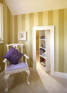 7.) A secret attic bedroom? Why not!
