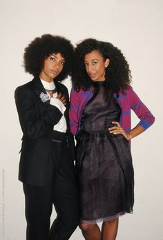 Backstage with the fabulous Esperanza Spalding and @Corinne Bailey Rae at Jazz at Lincoln Center.