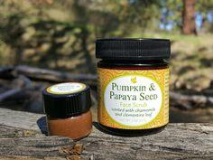 Pumpkin and Papaya Seed Face Scrub