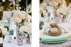 "Fun ""mama mia"" style wedding reception details!"