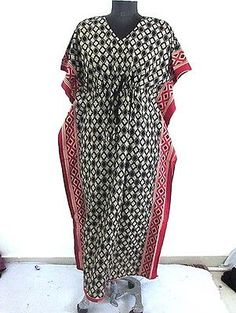 New African Women Kaftan Dress Dashiki Boho Maxi Gown One Size Plus Caftan Dress