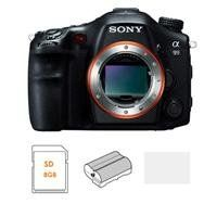 Sony SLT-A99V Digital SLR Camera Body - Bundle - with 8GB SDHC Card, Spare Battery, Screen Protector/Cleaning...