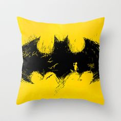 'Anyone+Here?'+Throw+Pillow+by+Peter+Goes+-+$20.00
