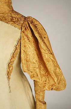 Wedding Dress (Bridesmaid).  House of Worth (French, 1858–1956).  Date: 1896. Culture: American.
