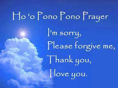 Hawaii prayer
