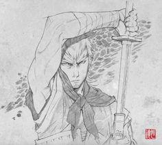 \ Tsunenori Saito \ Stranger: Mukou Hadan ストレンヂア -無皇刃譚   Sword of the Stranger \ \ \ Luo-Lang