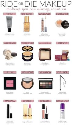 Ride Or Die Makeup - makeup you can always count on