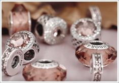 Pandora Autumn 2015 fascinating blush. I'm in love with this colour and these intricate charms - so much detail!