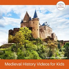 Classical Conversations Cycle Online Medieval History Videos for Kids Middle Ages History, History For Kids, Study History, Mystery Of History, World History, History Mysteries, Castle Backdrop, Renaissance, Modern History