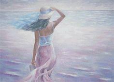 Женщина у моря, предпросмотр