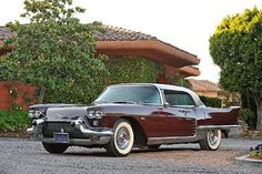 1958 Eldorado Brougham... the most expensive Cadillac and American made car you could buy at the time.
