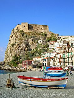 Calabria, Italy~ where my family is from. I would love to travel there someday.