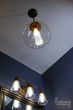 Changing Out Builder Grade Lights