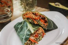 I have a new obsession. And no, for those of you who follow on Facebook I'm not talking about Kale Chips again. (Though I did make some yesterday…) My new obsession is Collard Wraps! You've heard of lettuce wraps, right? Well these Quinoa Collard Wraps are kinda similar except for the collard leaves are thicker,...
