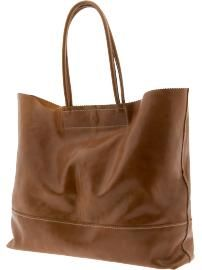 Banana Republic Market tote~ love wide bags for throwing things in!
