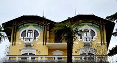 architettura Liberty in Italia | scopri altri villini Art Nouveau sul portale www.italialiberty.it