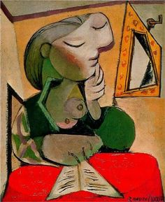 Portrait of woman - Pablo Picasso