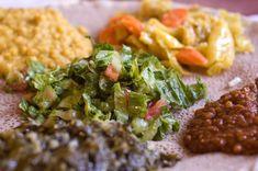 Ethiopian food.