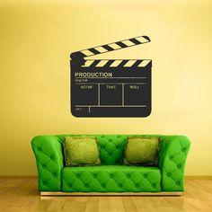 Wall Vinyl Sticker Decals Decor Art Bedroom Design Mural Video Producer Film Cinema (Z1745) StickersForLife http://www.amazon.com/dp/B00F1T2DFU/ref=cm_sw_r_pi_dp_dSpfvb1118RQV