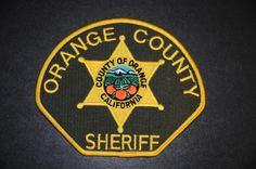 Orange County Sheriff Patch, California (Current 2000 Issue)