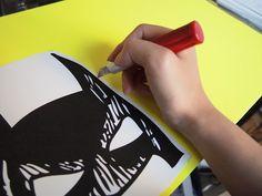 Wedding props | DIY Batman mask prop