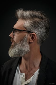 Check out the newest beard styles for 2020 with ideas for short, full, and long beards along with Beard and Company's rated beard oils, balms, and sprays that keep your facial hair soft and healthy. Proudly handmade in the USA with worldwide shipping. Old Man Haircut, Beard Haircut, Beard Styles For Men, Hair And Beard Styles, Hair Styles, Bart Design, Older Men Haircuts, Beard Images, Beard Straightening
