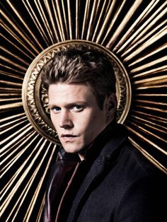 TVD S4 Photo Shoot Outtake of Zach Roerig