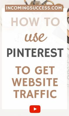 If you want to Use Pinterest for Growth, then these Tips are some you must know!  In this Video, I share my Top Tips for Driving Traffic from Pinterest to your Blog or Online Business Organically & without struggle!   Check them out and Start Getting More Pageviews from Pinterest Today!  #pinterestmarketing #pinteresttips #websitetraffic #blogtraffic #pageviewsfrompinterest