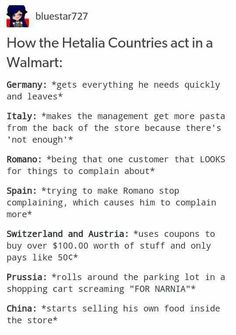Lol a China Town inside of Walmart >>> You don't understand, the reason Switzerland is so good at getting and using coupons is bc he would literally go broke otherwise