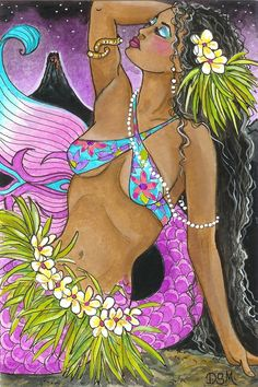 """Island Glory Mermaid"" by Diana Martin"