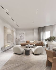 Home Living Room, Interior Design Living Room, Living Room Designs, Living Room Decor, Home Room Design, Dream Home Design, Living Room Essentials, Minimalist Living, House Rooms
