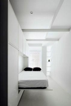 Фотография: в стиле , Гостиная, Детская, Спальня, Квартира, Советы, Бежевый, Серый, Мебель-трансформер, кровать-трансформер, диван-кровать – фото на InMyRoom.ru