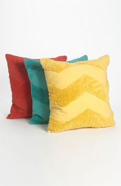 chevron pillows :: so colorful