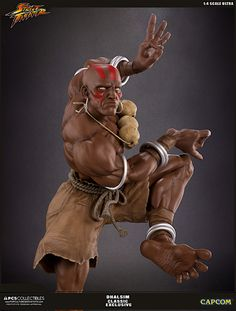 Street Fighter Dhalsim 1:4 Scale Ultras Statue Images & Info From Pop Culture Shock